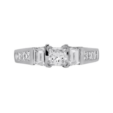 jcpenney.com | LIMITED QUANTITIES 1½ CT. T.W. Diamond 14K White Gold Engagement Ring