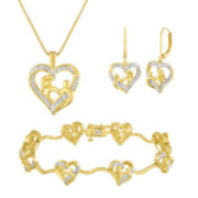 1/10 CT. T.W. Diamond 3-pc. Jewelry Set