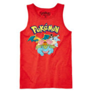 Pokémon Graphic Tank Top – Boys 8-20