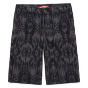 Arizona Print Chino Shorts - Boys 8-20, Husky