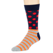 HS® by Happy Socks Mixed Print Socks