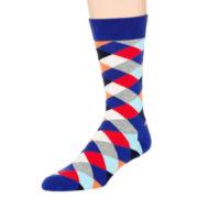 HS® by Happy Socks Diamond Pattern Socks