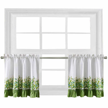 jcpenney.com | Ivy League Rod-Pocket Window Tiers