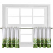Ivy League 2-Pack Rod-Pocket Window Tiers