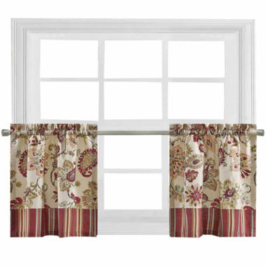 jcpenney.com | Bijoux Soiree Rod-Pocket Window Tiers
