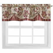 Bijoux Soiree Rod-Pocket Tie-Up Tailored Valance