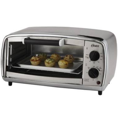 jcpenney.com | Oster® 4-Slice Stainless Steel Toaster Oven