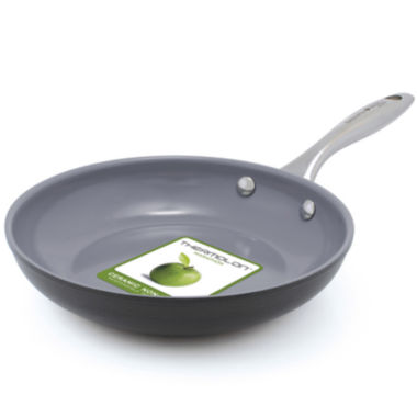 "jcpenney.com | GreenPan™ Lima 3D I Love Eggs and Pancakes 8"" Hard-Anodized Fry Pan"