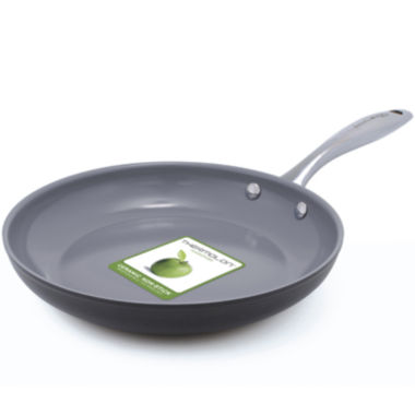 "jcpenney.com | GreenPan™ Lima 3D I Love Eggs and Pancakes 9½"" Hard-Anodized Fry Pan"