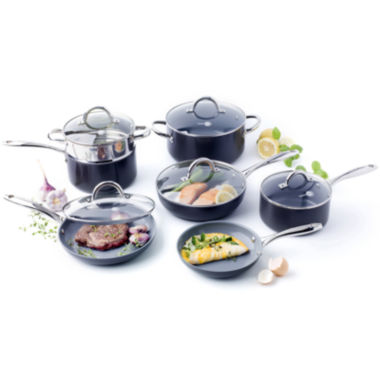 jcpenney.com | GreenPan™ Lima 3D I Love Cooking 12-pc. Hard-Anodized Cookware Set