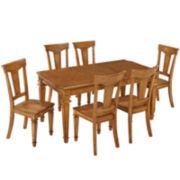 Bransford 7-pc. Rectangular Dining Set