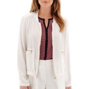 Liz Claiborne® Soft Bomber Jacket