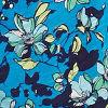 Oasis Blue Floral