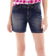 St. John's Bay® Denim Shorts
