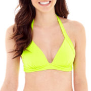 Arizona Banded Halter Swim Top - Juniors