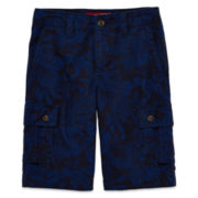 Arizona Print Twill Cargo Shorts – Boys 8-20, Slim and Husky
