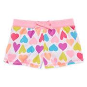 Okie Dokie® Print Shorts – Toddler Girls 2t-5t