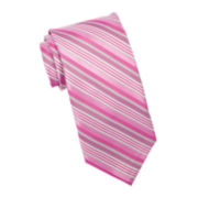Stafford® Largo Stripe Silk Tie