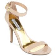 Olsenboye® Rumer Patent Ankle-Strap Heels