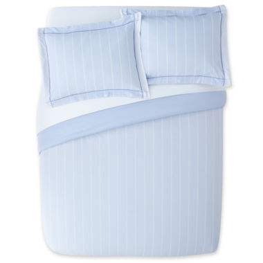jcpenney.com | jcp EVERYDAY™ Oxford Stripe Comforter Set
