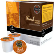 K-Cup® French Roast Decaf Coffee Packs by Tully's