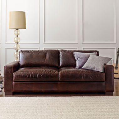 jcpenney.com | Signature Leather Furniture Collection
