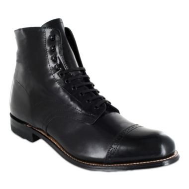 jcpenney.com | Stacy Adams® Madison Mens Cap Toe Lace Up Leather Dress Boots