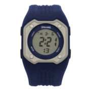 Spalding® Mens Diamond Digital Watch