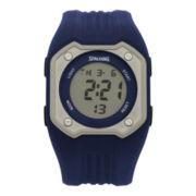 Spalding® Mens Diamond Digital Watch
