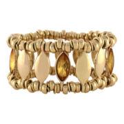 nicole by Nicole Miller® Gold Stretch Bracelet
