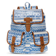 Olsenboye® Sequined Tribal Print Backpack