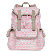 Olsenboye® Tribal Print Cargo Backpack