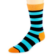 HS by Happy Socks™ Striped Crew Socks