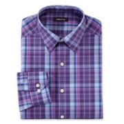 Claiborne® Plaid Dress Shirts - Slim