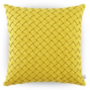 Design by Conran Smocked Lattice Decorative Pillow