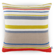 Design by Conran Chunky Striped Decorative Pillow