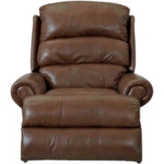 Norman Faux-Leather Recliner