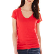 a.n.a® Essential V-Neck Tee - Tall