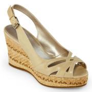 9 & Co.® Noland Slingback Wedge Sandals