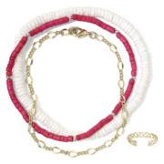 Arizona Ankle Bracelet & Toe Ring 4-pc. Set