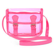 Confetti Neon Pink See-Thru Purse – Girls
