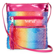 Confetti Rainbow Sequin Purse – Girls