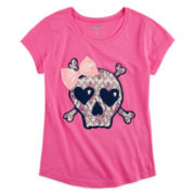 Arizona Graphic Glitter Tee - Girls 7-16 and Plus