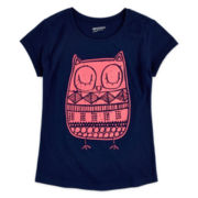Arizona Graphic Puff-Print Tee - Girls 7-16 and Plus