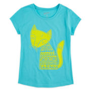 Arizona Graphic Puff-Print Tee – Girls 7-16 and Plus