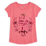 Arizona Graphic Foil Tee - Girls 7-16 and Plus