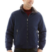 St. John's Bay® Fleece-Lined Nylon Jacket