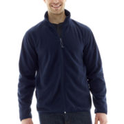 St. John's Bay® Full-Zip Plush Fleece Jacket