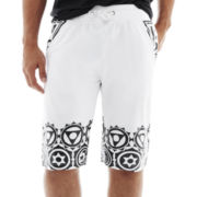 Switch® Geo Block-Print Shorts