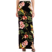 i jeans by Buffalo Tropical Floral Print Maxi Skirt
